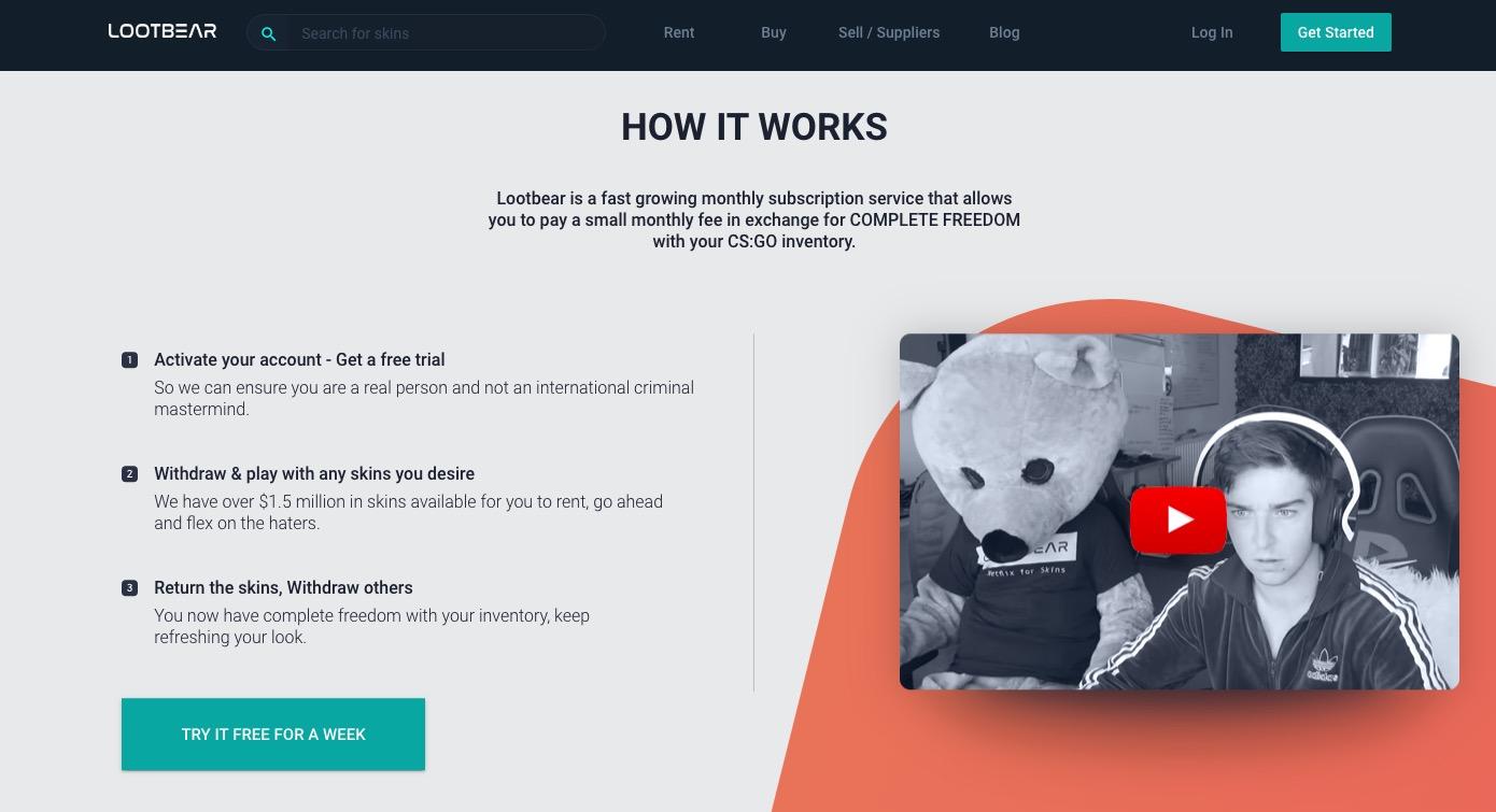 LootBear how it works