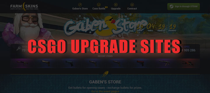Best CSGO Upgrade Sites