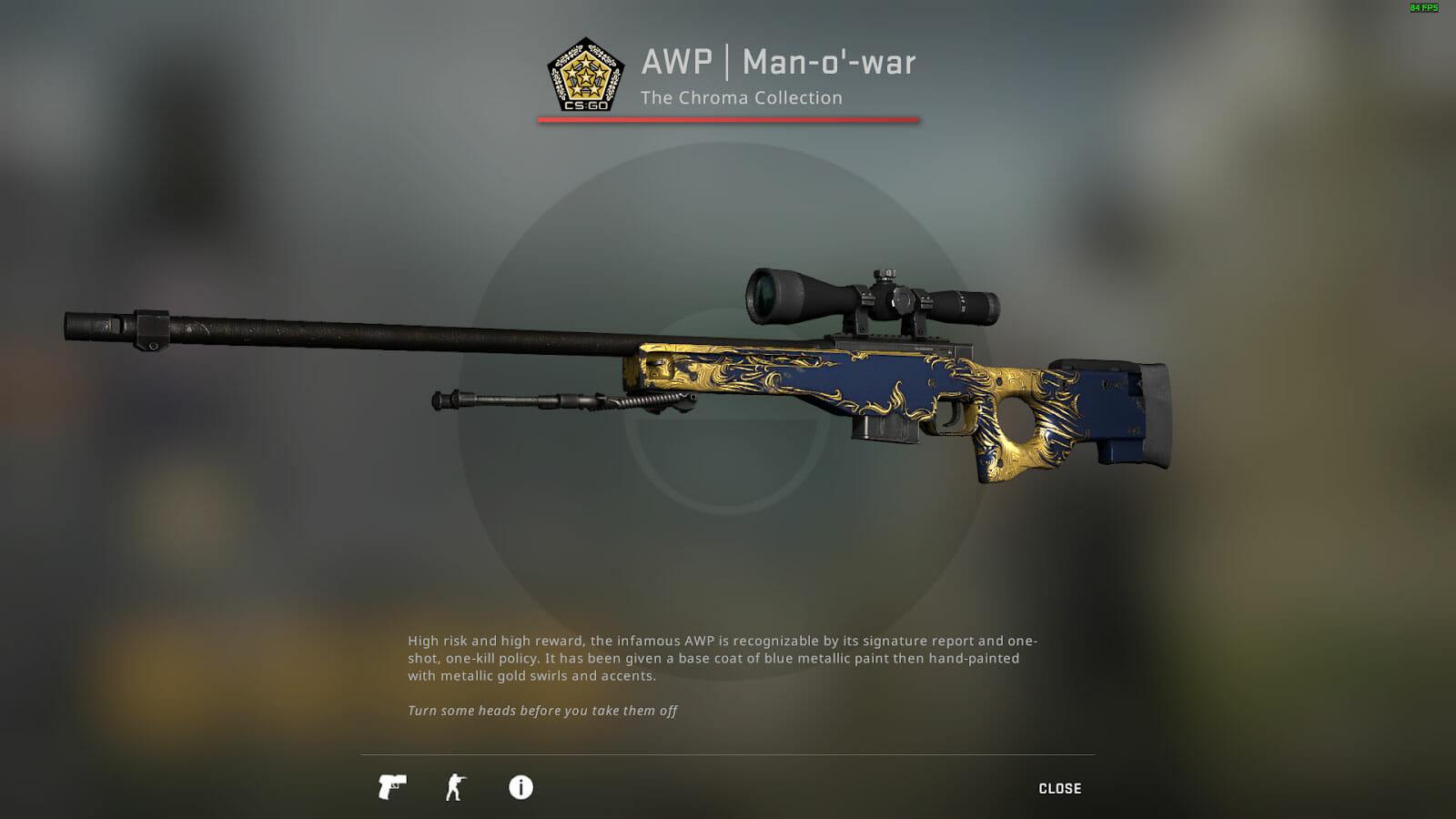 AWP Man-o'-War