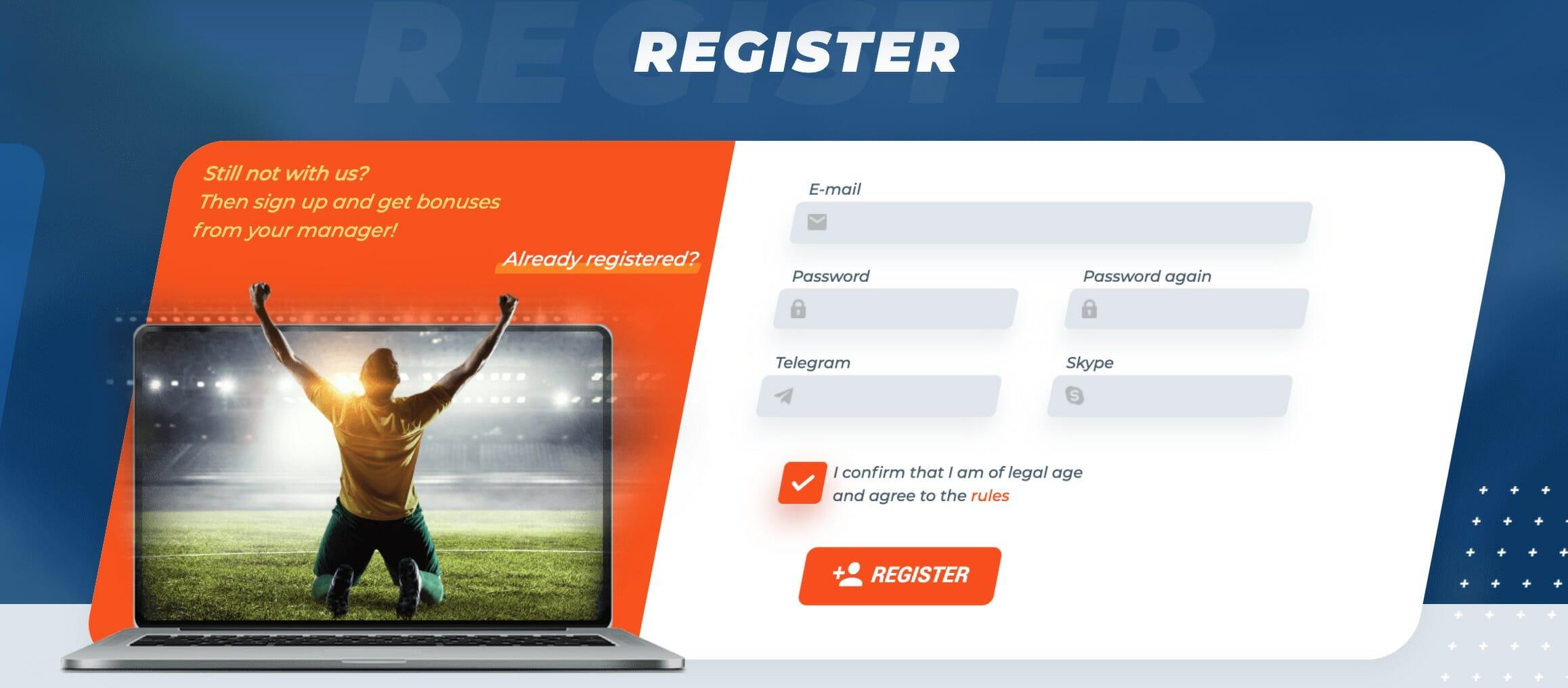 MostBet registeration
